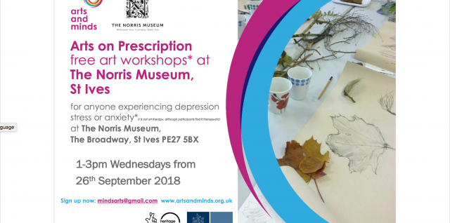 Arts on Prescription in St Ives